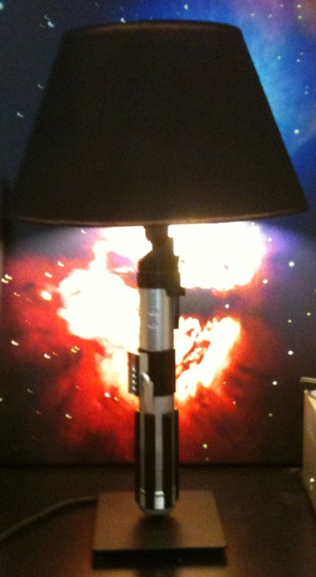light saber lamp